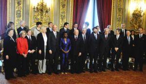 letta e ministri