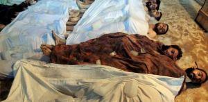 uccisi gas siria