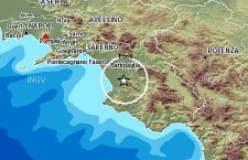 Due scosse di terremoto 3.7 registrate nel Cilento, nella zona di Paestum