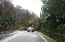 Roma resta in stato di emergenza maltempo. Una frana blocca persino la Cassia Antica poco dopo Ponte Milvio