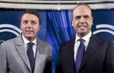 """Renzi al Quirinale prima di affrontare i veri problemi che vengono dal """"centro"""" e da Ncd. Furiosa la polemica tra Alfano e gli """"inutili idioti"""" di Berlusconi"""