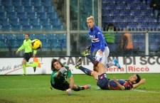 Il derby della lanterna va alla Samp che batte il Genoa 1 a 0