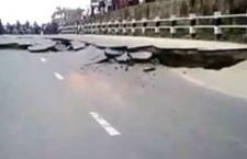 Nepal- Strada lesionata