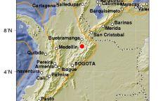 Terremoto di quasi 5 gradi Richet in Colombia