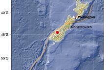 Violento terremoto scuote la Nuova Zelanda. Magnitudo 5,6