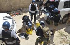 Ispettori internazionali trovano tracce di bombe chimiche usate in Siria