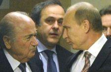 La politica più che mai interviene su calciopoli Fifa. Cameron contro Blatter, Putin a favore