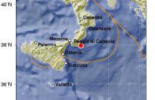 Terremoto si ripete nello Ionio, vicino la Calabria: 4.0 di magnitudo