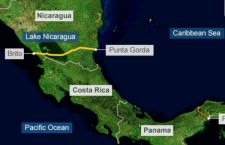 Proteste in Nicaragua contro il nuovo canale che unirà Atlantico e Pacifico