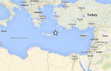 Terremoto di forte intensità sull'Isola di Creta