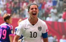 Le ragazze Usa vincono i mondiali di Calcio femminile battendo le campionesse del Giappone: 5-2