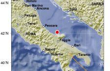 Serie di scosse di terremoto, da 3.6 fino a 4.2, nell'Adriatico Italiano. Epicentro le Tremiti