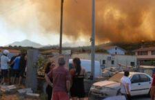 Gli incendi minacciano la Sardegna. I più pericolosi vicino Olbia. Sfollata la popolazione