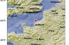 Gran Bretagna – Francia: per terzo mese di fila, terremoto nella zona della Manica