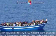 Nuova strage di migranti. Si temono centinaia di morti per rovesciamento di un barcone