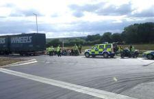 Uk: 27 immigrati bloccati su un tir con targa italiana al sud di Londra. Arrestato l'autista
