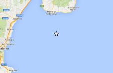 Terremoto registrato nello Jonio tra Sicilia e Calabria. Nessun danno