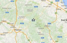 Serie di scosse di terremoto in Toscana ai confini con l'Emilia – Romagna