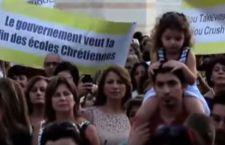 Israele: protesta di insegnanti, studenti e genitori delle chiese cristiane per il taglio dei fondi