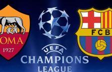 Impresa Roma che all'Olimpico riesce a pareggiare con il Barcellona
