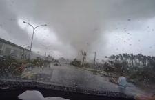 """Taiwan: sfollate migliaia di persone per l'arrivo di un """"super tifone"""". venti a 227 Km/H"""