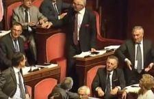Puniti due senatori per i loro gesti volgari contro collega del Movimento Cinque Stelle