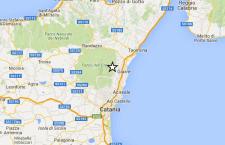 Sciame sismico tra Catania e Taormina. Serie di scosse di terremoto si ripetono ai piedi dell'Etna