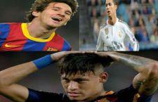 Pallone d'oro. I soliti tre finalisti: Messi, Ronaldo e Neymar
