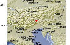 Terremoto nel Friuli. Magnitudo 4.1. Tra le province di Udine e Belluno