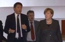 Merkel Renzi: la strana coppia che deve litigare a bassa voce