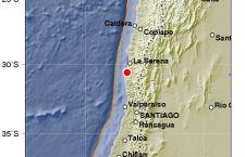 Violento terremoto in Cile. Nessun allarme tsunami