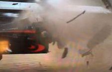 Pauroso incidente a Alonso al GP Australia