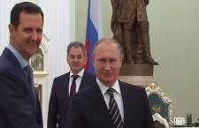 """Siria. Putin annuncia ritiro truppe russe e che Assad è pronto a processo """"politico"""""""