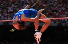 Tamberi: 2,36. Campione del mondo di alto indoor