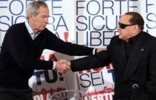 Roma: saluta Bertolaso, Berlusconi con Marchini. La Raggi si dice pronta per il Campidoglio
