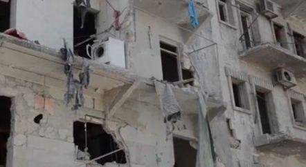 bombardamento aleppo 4