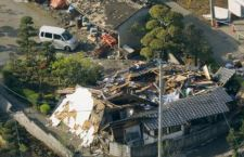 Terremoto Giappone: 35 morti. Si cercano centinaia di dispersi