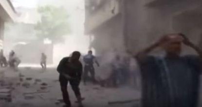 bombardamenti aleppo 2