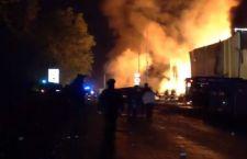 Incendio azienda chimica Torino: 5 vigili del fuoco feriti
