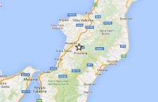 Terremoto a Reggio Calabria. 3.1 di magnitudo