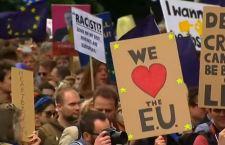 Londra in piazza a favore dell'Europa