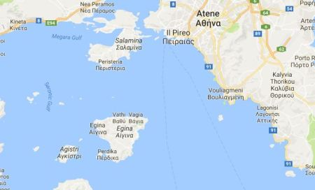 egina map
