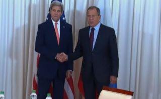 John Kerry - Sergei Lavrov