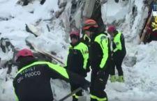 I soccorritori di Rigopiano