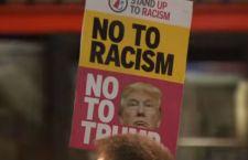 Trump contro la magistratura. A Londra in piazza contro di lui