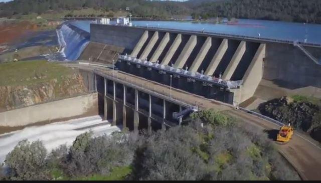 La diga di Oroville