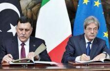 Accordo Italia Libia per fermare gli sbarchi dei migranti