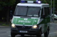 Auto della polizia tedesca