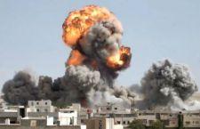 Siria: bombardata scuola. 33 morti tra i civili