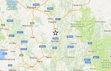 Serie di scosse di terremoto vicino Spoleto